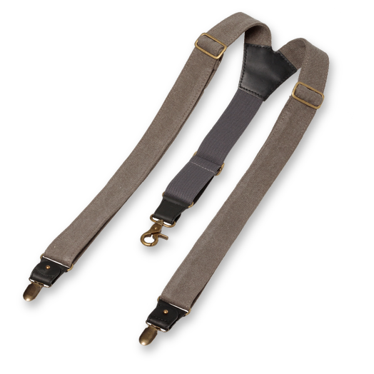 Wiseguy Suspenders - The Duck Canvas - Grå (2)