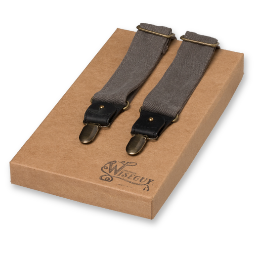 Wiseguy Suspenders - The Duck Canvas - Grå (1)