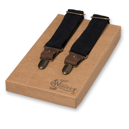 Wiseguy Suspenders - The Duck Canvas - Svart (1)