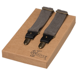 Wiseguy Suspenders - The Duck Canvas - Grå - Thumbnail 1