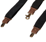Wiseguy Suspenders - The Duck Canvas - Svart - Thumbnail 3
