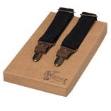 Wiseguy Suspenders - The Duck Canvas - Svart - Thumbnail 1